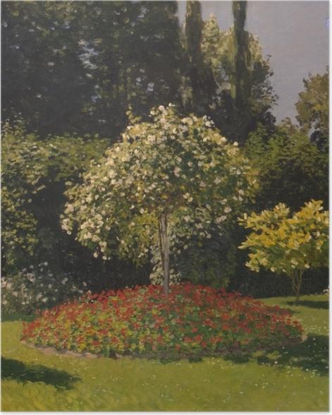 Poster Claude Monet - Femme au jardin - Reproductions