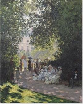 Poster Claude Monet - Het Parc Monceau
