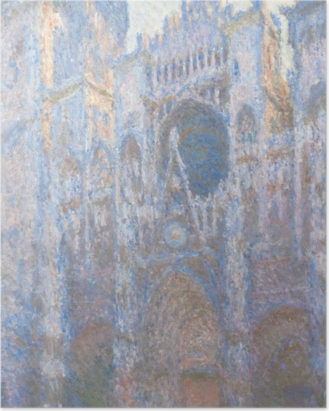 Poster Claude Monet - La Cathédrale de Rouen - Reproductions