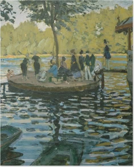 Poster Claude Monet - La Grenouillère - Reproductions