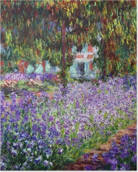 Poster Claude Monet - Le Jardin de l'artiste à Giverny - Reproductions