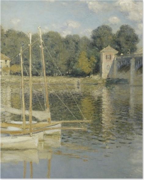 Poster Claude Monet - Le Pont d'Argenteuil - Reproductions