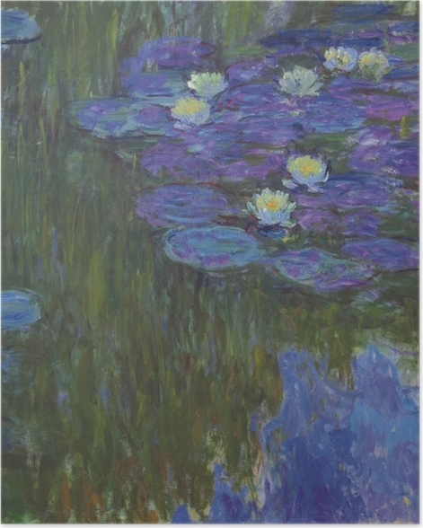 Poster Claude Monet - Nénuphars - Reproductions
