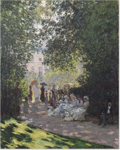Poster Claude Monet - Parc Monceau - Reproductions