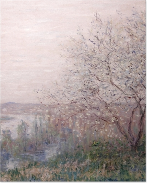 Poster Claude Monet - Printemps - Reproductions