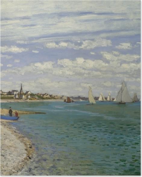 Poster Claude Monet - Régates à Sainte-Adresse - Reproductions