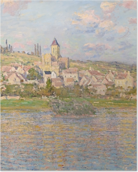 Poster Claude Monet - Vétheuil - Reproductions