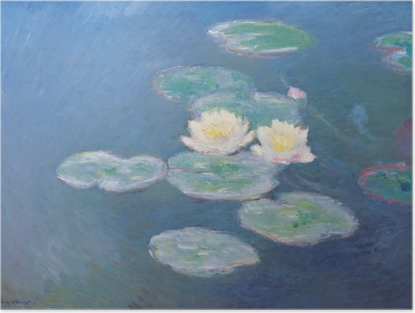 Poster Claude Monet - Waterlelies - Reproducties