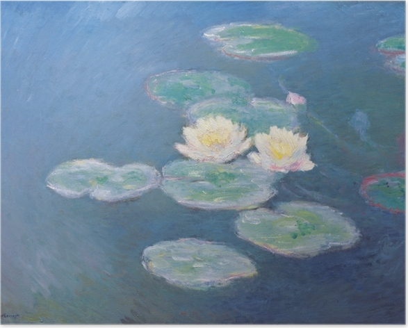 Claude Monet - Waterlilies Poster - Reproductions