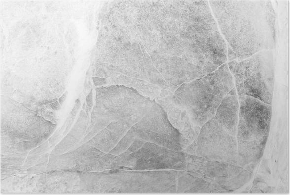 Stenen Muur Wit : Poster close up oppervlak marmeren stenen muur textuur achtergrond