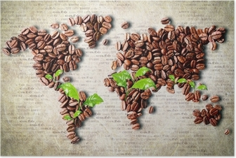 Coffee around the world Poster