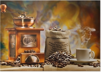 coffee for still life Poster