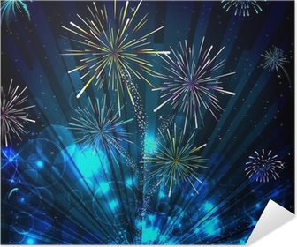 large professional fireworks display poster pixers we live to