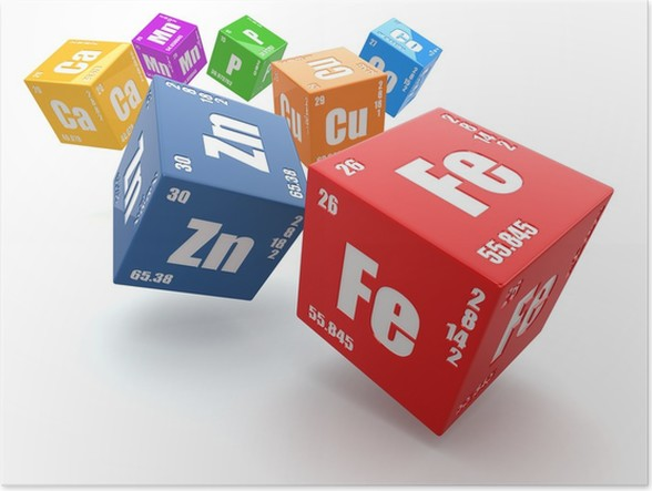Pster concepto de la qumica tabla peridica de los elementos en pster concepto de la qumica tabla peridica de los elementos en los cubos urtaz Choice Image