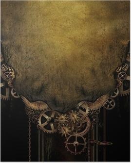 Poster Contexte Steampunk