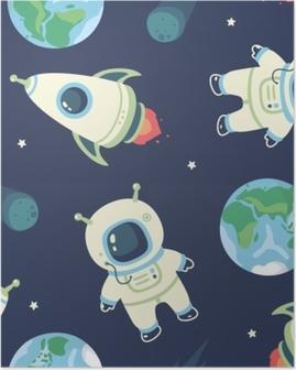 cosmonaut Poster