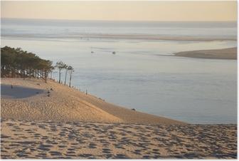 Poster Coucher de soleil sur la Dune du Pyla 12