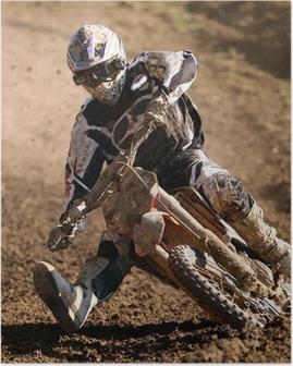 Poster Cross moto