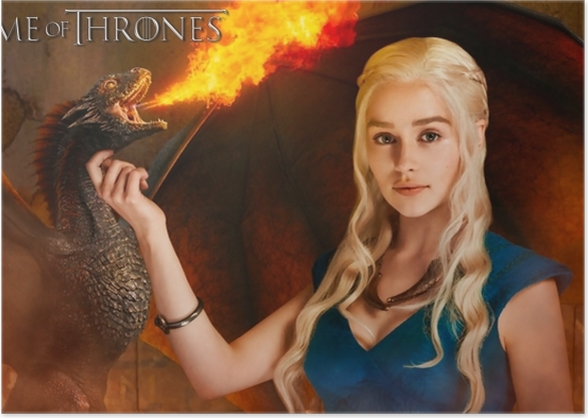Daenerys Targaryen Poster - Themes