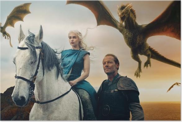 Póster Daenerys Targaryen - Temas