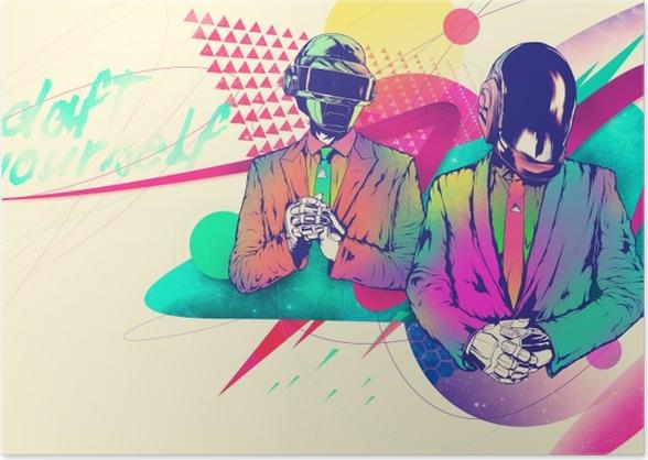 Daft Punk Poster - Daft Punk