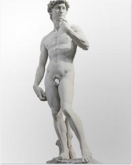 David by Michelangelo Poster
