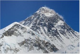 Poster De hoogste berg ter wereld, Mount Everest (8850m)
