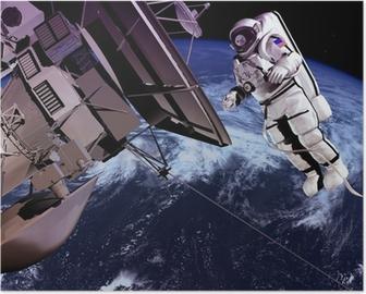 Poster Den rymdskepp