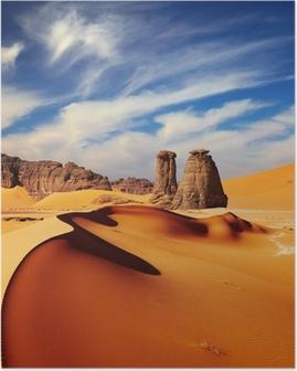 Poster Désert du Sahara, Algérie