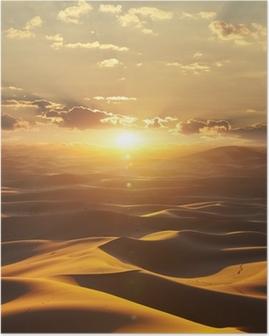 Desert Poster