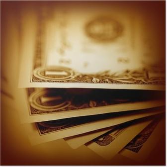 Poster Dollars américains
