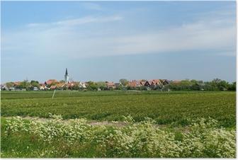 Poster Dorp Den Hoorn op Texel