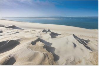 dune du pyla près d'arcachon Poster