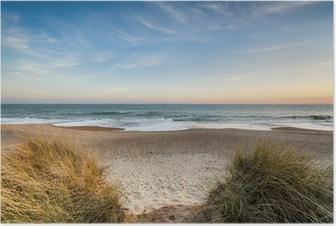 Poster Dunes de sable