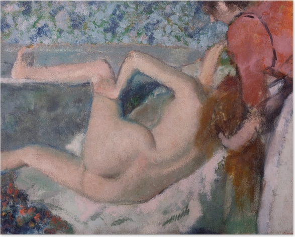 Edgar Degas - After the Bath Poster - Reproductions