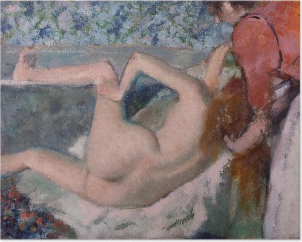 Póster Edgar Degas - Después del baño - Reproducciones