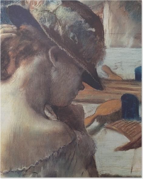 Poster Edgar Degas - Devant le miroir - Reproductions