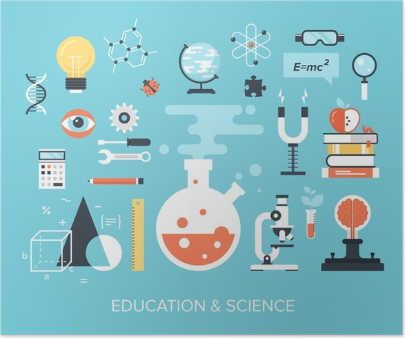 Education And Science Poster