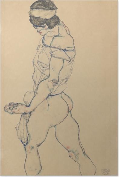 Póster Egon Schiele - El Pacer - Reproducciones
