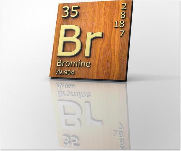 Pster el bromo forma tabla peridica de los elementos board pster el bromo forma tabla peridica de los elementos board urtaz Images