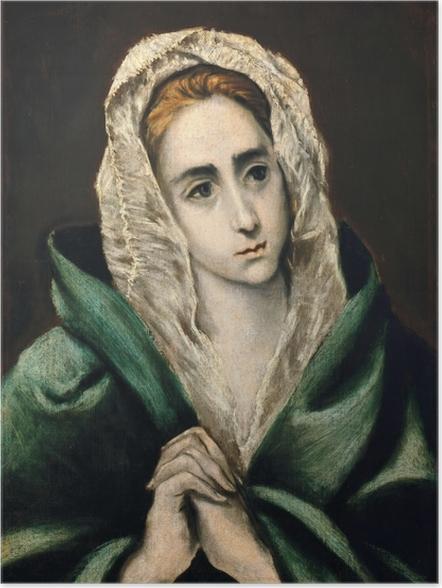 Póster El Greco - Mater Dolorosa - Reproducciones