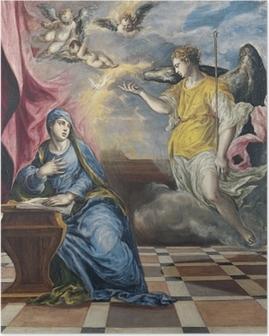 El Greco - The Annunciation Poster