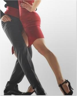 Poster Elegnace tangodansers