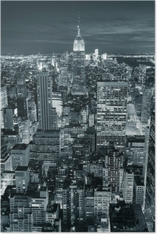 Poster Empire State Building gros plan