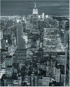 Poster Empire State Building, Närbild