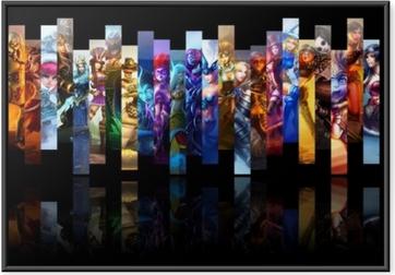 Poster en cadre League of Legends