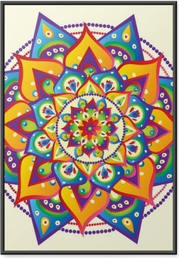Poster en cadre Mandala