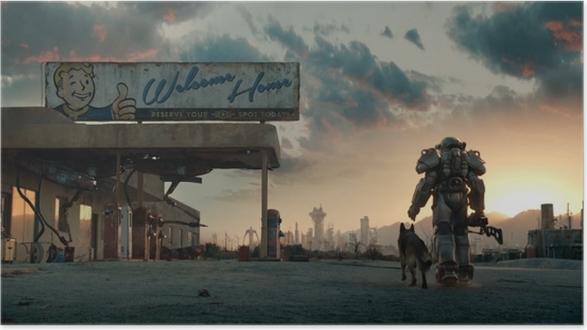 Póster Fallout - Temas