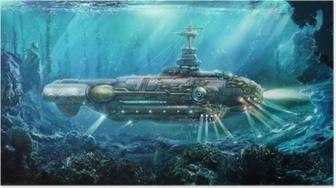 Poster Fantastisk ubåt