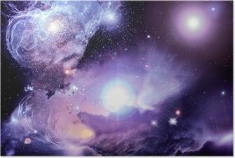 Poster Fantasy Space Nebula